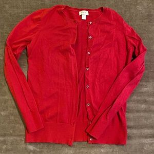 """Loft Cardigan with """"Crystal"""" buttons"""